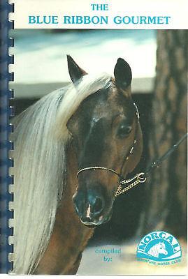 Cupertino Ca 1990  Blue Ribbon Gourmet Cook Book  Norcal Miniature Horse Club