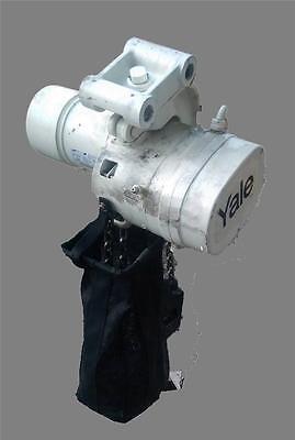 Yale Heavy Duty 2 Ton 4000 Lb Hoist Lift Tech 3 Phase Control Pendant W Trolley