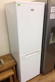 ZANUSSI - White , 56cm wide / 169cm tall FRIDGE FREEZER + 3 Month Guarantee + FREE LOCAL DELIVERY