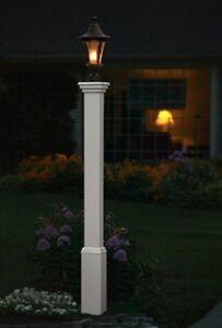 new decorative vinyl outdoor 72 madison lamp post pole w. Black Bedroom Furniture Sets. Home Design Ideas