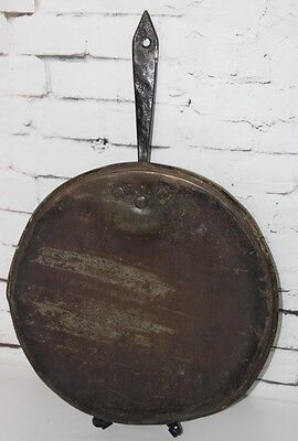 19th C Antique  Copper & Metal Pan Lid - FREE Shipping  [PL3611]