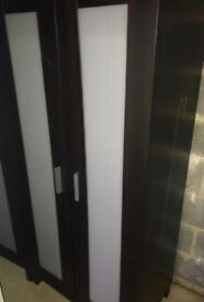2x IKEA wardrobes - £20 each, good condition minor scrapes