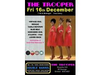 FRIDAY 16th DECEMBER - 60s 70s SOUL / REGGAE / MOTOWN / BLUE BEAT with DOUBLE BARREL - ST GEORGE