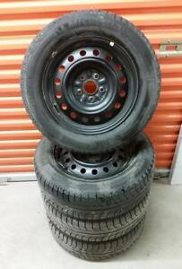 (H190) Pneus Hiver - Winter Tires 215-60-16 Michelin