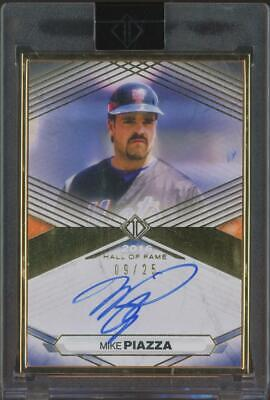 2021 Topps Transcendent Hall Of Fame Mike Piazza 9/25 Auto Autograph