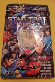 Star Trek Master Series 1993 & 1994 Trading Cards By Skybox