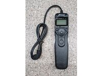 Sony Compatible Multi-Function Remote Shutter Release Timer - As New