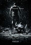 The Dark Knight Rises Movie Poster 27x40