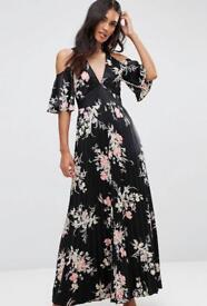 Size 14 brand new cold shoulder maxi dtess
