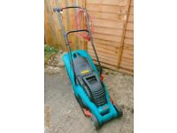 Second hand Bosch rotak 34 34cm - 1400 w lawn mower (see picture)