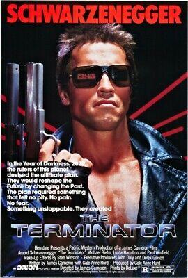 The Terminator Movie Poster Print Art Photo 8x10 11x17 16x20 22x28 24x36 27x40