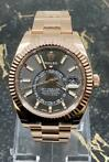 Rolex Sky-Dweller Rose Gold Rhodium Dial - Full Stickers