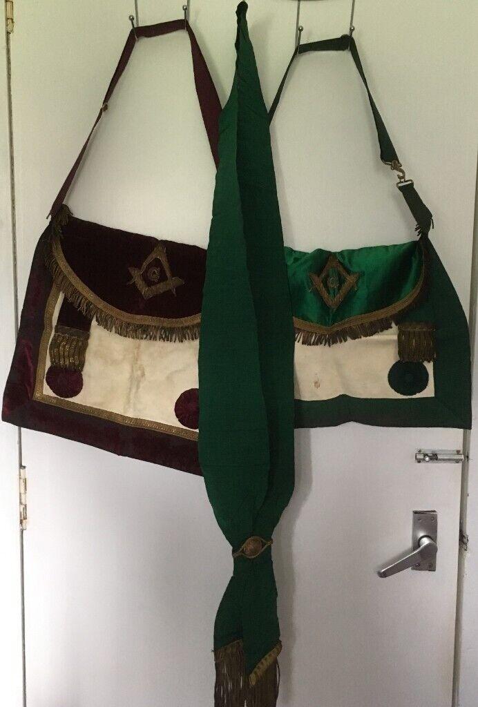 Masonic Aprons and Sash | in Peterhead, Aberdeenshire | Gumtree