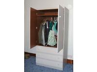 Small Wardrobe - Light Grey-Blue