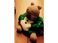Lost, small teddy bear nr Hilton 1/1/17