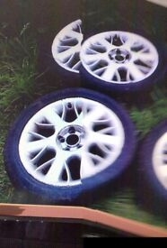 rover/mgzt serpent alloys with tyres