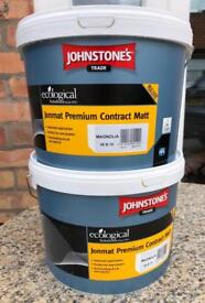 Johnstones Trade Premium Contract Emulsion Paint (Magnolia) New & Sealed