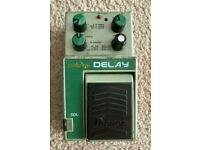 Ibanez DDL Digital Delay Effects Pedal Rare Vintage Japan 1980's