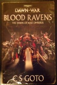 Warhammer 40K 'Dawn Of War: Blood Ravens Omnibus' Novel (2008)