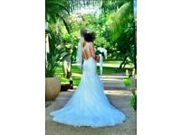 Stunning Stella York Wedding Dress (size 10) like new.