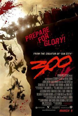 300 Movie Poster Wall Art Photo Print 8x10 11x17 16x20 22x28
