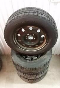(H123) Pneus Hiver - Winter Tires 215-65-16 BF Goodrich