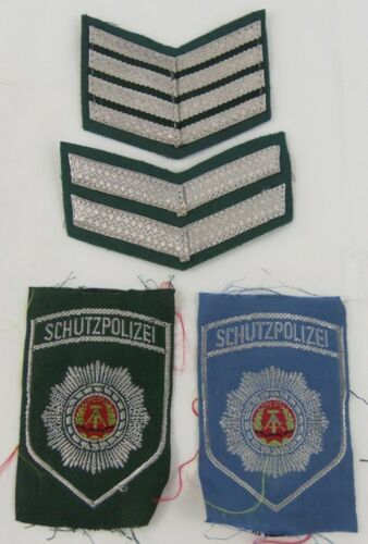 DDR East German Schutzpolizei Arm Patches/Sleeve Chevrons