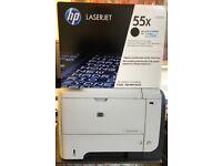 Printer HP Laserjet 3015 + Brand new original HP 55X cartridge