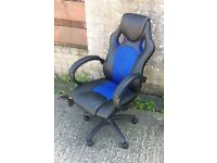 Office Chair FREE DELIVERY Luxury Desk PC Computer Business Leather Home Study Workshop Garage