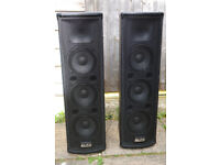 Alto Trouper Compact PA Speakers Excellent Sound £110 each