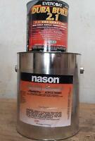 2 Quarts Silver Nason Automotive Paint, One quart Primer