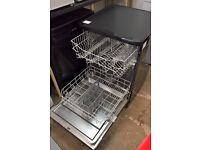 Bush Black Freestanding Full Size 12 PLACE Dishwasher (WV12-75DB) **WITH FULL GUARANTEE** D0005