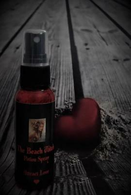 LOVE & PASSION Potion Spray Mist Ritual Oil Spray 2 oz ~ Wicca Witchcraft Pagan