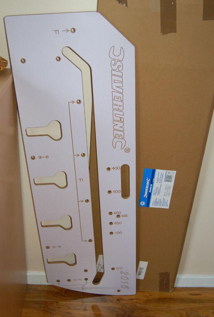 KITCHEN WORKTOP JIG 900mm - SILVERLINE 633488 ROUTER TEMPLATE   in ...