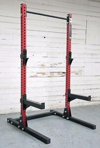 "Free Shipping coupon code NEW eSPORT IRON BULL 250 ½ Rack, CrossFit, 3"" x 3"" (11 Gauge) Not Available in Retail stores"