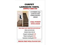 Carpet/Vinyl/Laminate fitter