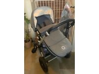 Bugaboo Cameleon 3 pram with footmuff