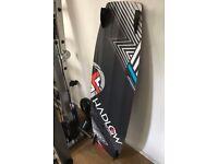 New MK2 Hadlow Kitesurfing Board with new Twin tip 2 Inch Fangs Fins
