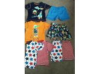 Tu @ sainsburys short and tshirt pyjama 's, age 2-3