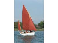Drascombe Dabber - Boat Show Model