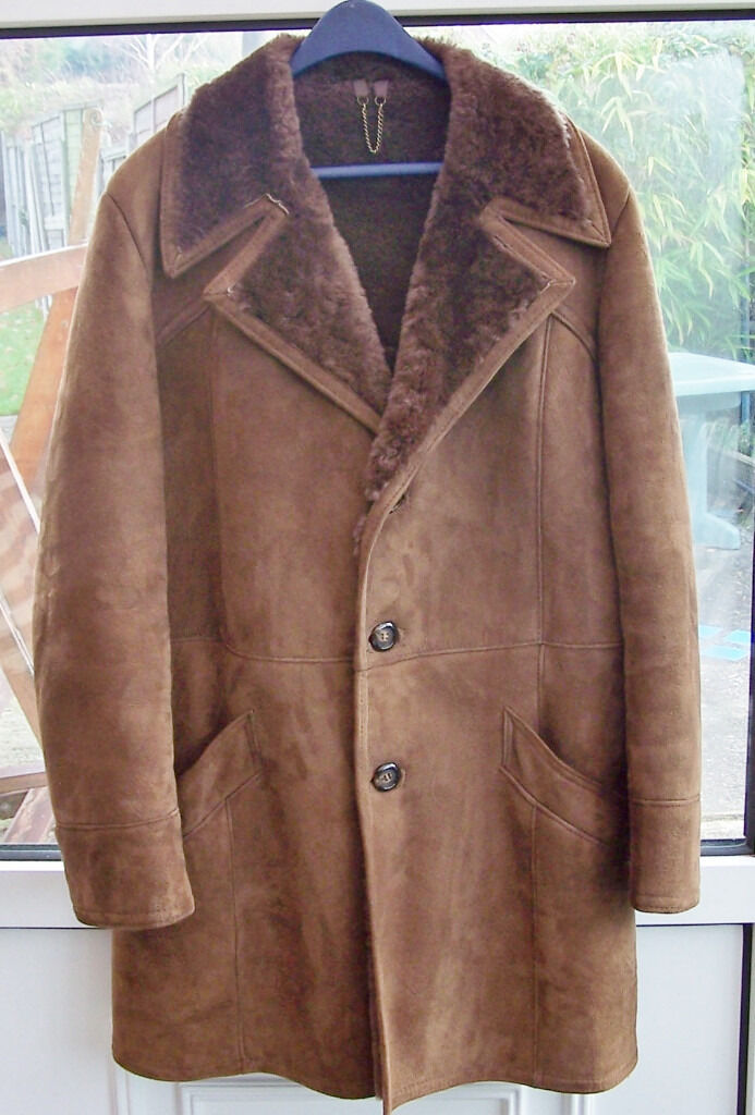 Mens Sheepskin Coat Baileys Glastonbury 42&quot | in Whitstable Kent