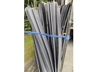 124cm x 15cm pieces of steel, 100 for £10, only 10p each