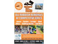 FROM £10 - Cheaper Than A Skip - 01236 918274 | Rubbish Removal, House, Office & Garden Clearance