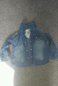 Boys 12m Levis shirt