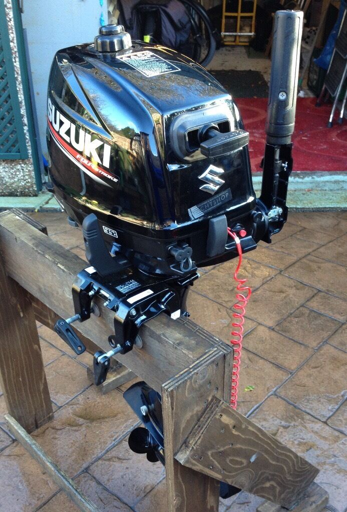 Suzuki df6 6 hp short shaft outboard 2016 like new with for Best outboard motor 2017