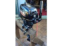 SUZUKI DF6 6 HP Short Shaft Outboard..2016..Like new. With 12ltr tank and fuel line.. £900 ONO.