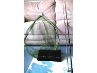 CHUB 10FT OUTKAST PLUS STALKING ROD AND KORUM OVAL LANDING NET