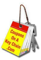 Coupons on a Key Chain