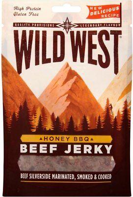 (Wild West Honey BBQ Beef Jerky (6x70g))