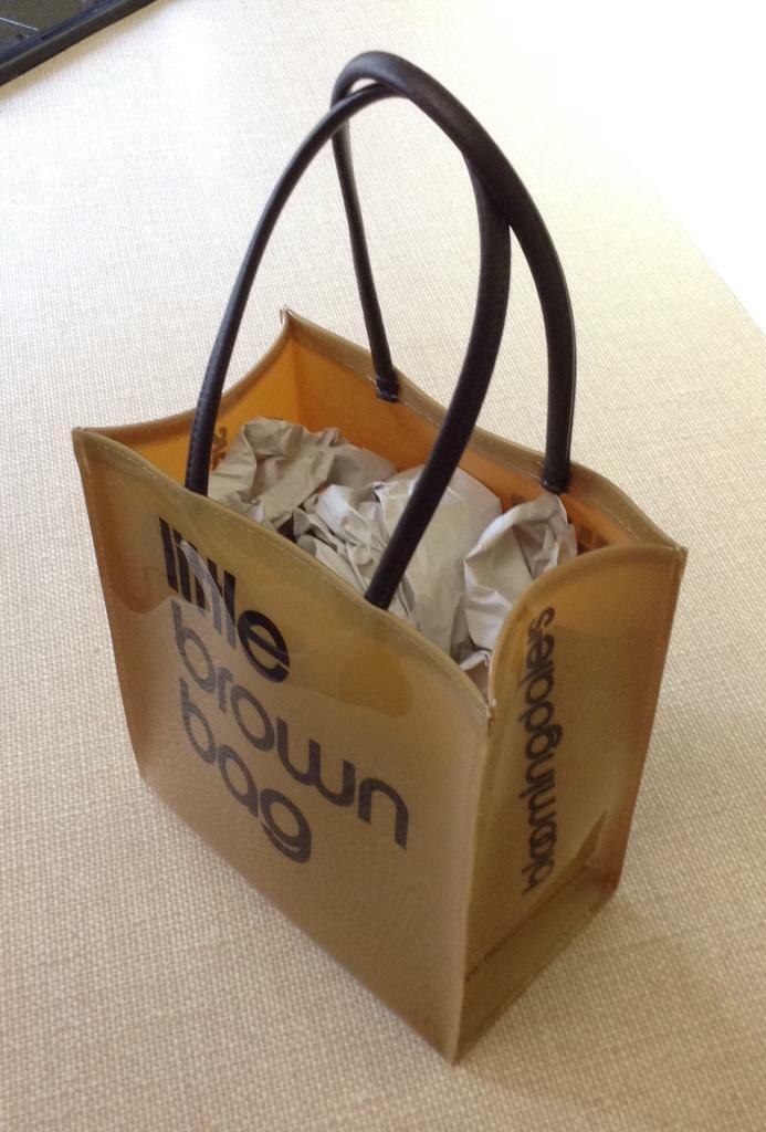 e30d81a9e3b1b NEW bloomingdale's little brown bag | in Milngavie, Glasgow | Gumtree